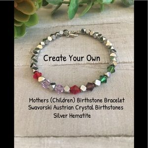 Create Your Own Mothers Gemstone Bracelet